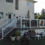 Aluminum-Glass-Railing-Installation-for-Backyard-Deck-in-Markham-Ontario by aluminumwindowstoronto.ca