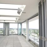 Commercial Custom Aluminum Application Folding Doors