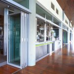 Commercial Exterior Folding Door Application-Aluminum sliding-doors-commercial