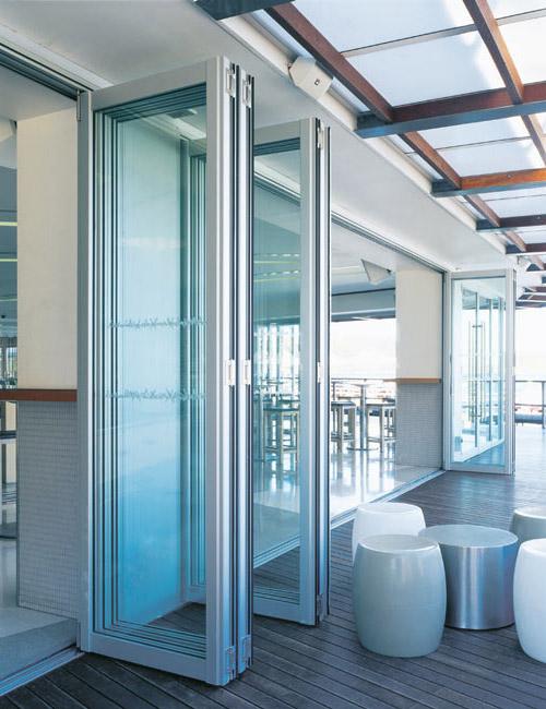 Commercial Exterior Folding Door Application Sliding Patio Doors