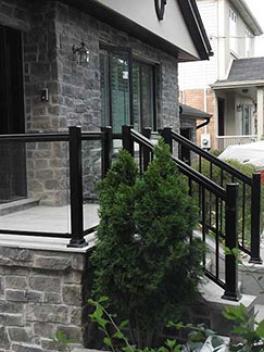 Aluminum-Glass-Railing-Installation-in-New-Market-Ontario by aluminumwindowstoronto.ca