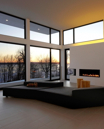 Aluminum Oversized Fix Windows Glass Wall by Aluminum Windows Toronto