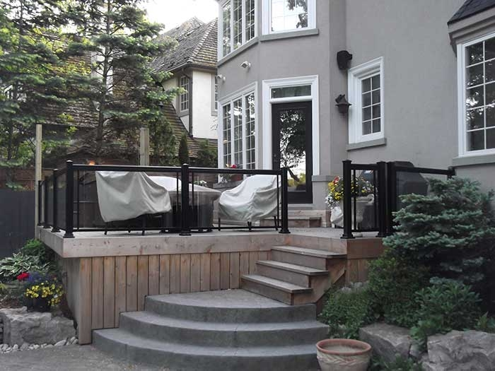 Aluminum-Railing-&-Glass-Installation-in-Custom-Home---Richmond-Hill by aluminumwindowstoronto.ca