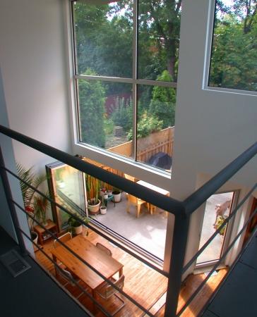 Big Giant Aluminum Fix Window with folding aluminum doors by Aluminum Windows Toronto