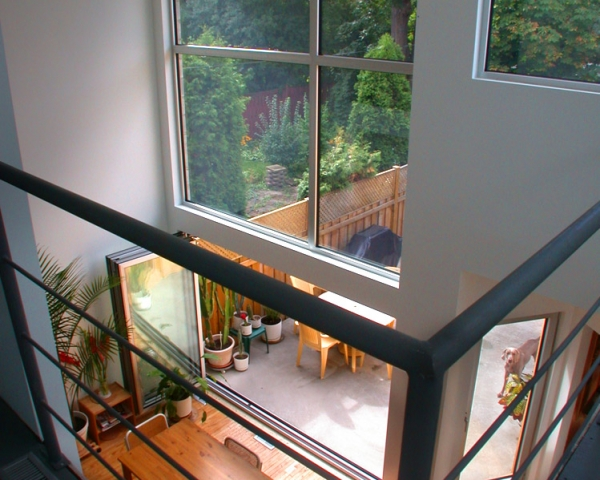 Big Giant Aluminum Fix Window with folding aluminum doors by Aluminum Windows Toronto