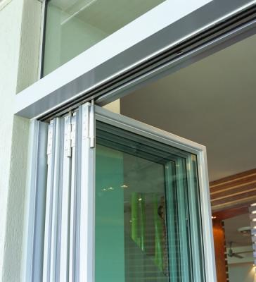 Commercial Exterior Folding Door Application-Aluminum Swing Doors