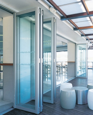 Commercial Exterior Folding Door Application-sliding-patio-doors-commercial