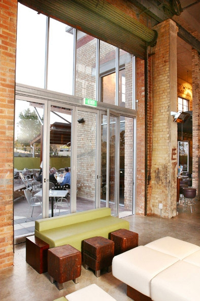 Commercial Exterior Folding Doors Installation