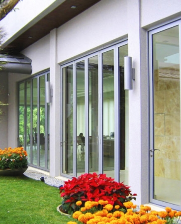 Residential Bi-Folding Doors installed in Oakville