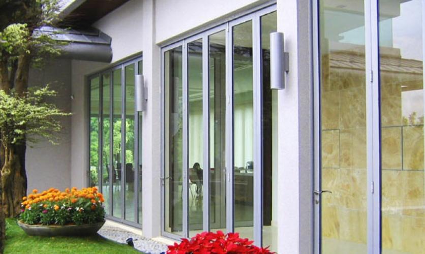 Residential Bi Folding Doors Installed In Oakville