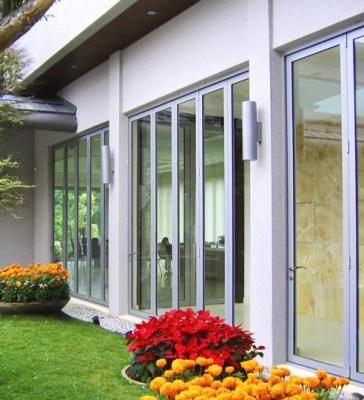 Residential Bi-Folding Doors installed in Oakville